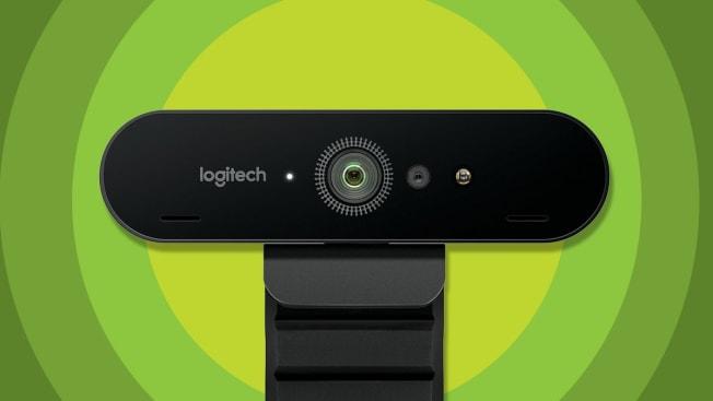 Logitech webcam.