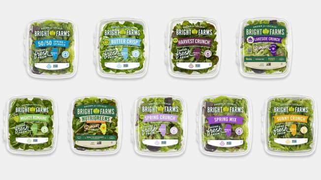 BrightFarms Packaged Salad Recall Salmonella