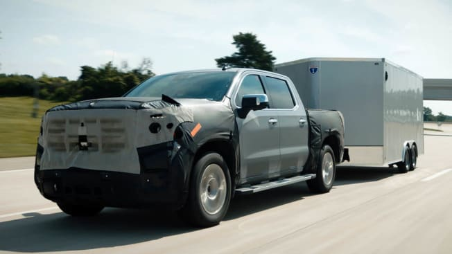 General Motor pickup truck trailering with Super Cruise