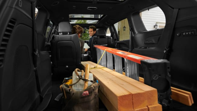 Chrysler Pacifica MiniVan with Cargo area