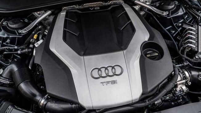 Audi turbo-charged engine