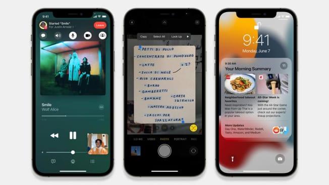 Iphone iOS 15 update