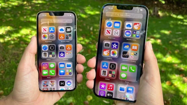 The Apple iPhone 13 Pro and Max