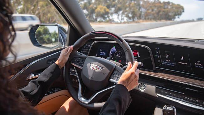 Super Cruise in the 2021 Cadillac Escalade