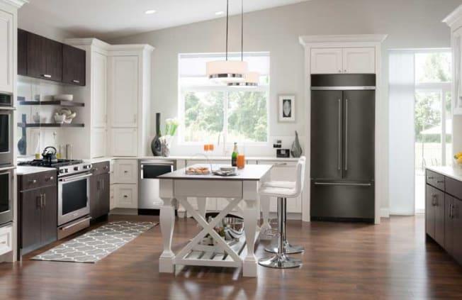 KitchenAid KBFN502EBS built-in refrigerator