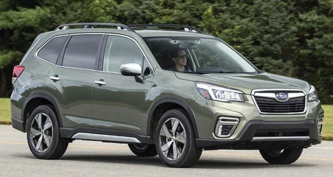 2019 Subaru Forester PR