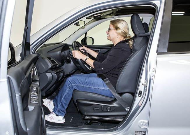Short driver Subaru Forester