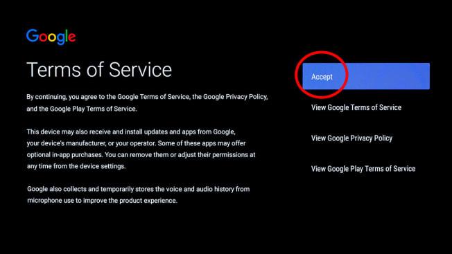 tv privacy settings