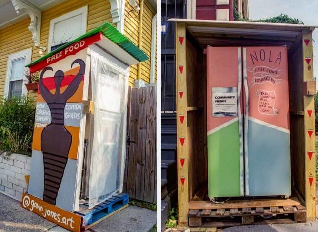 Nola Community Fridges  New Orleans, LA