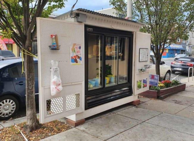 The Fridge on 52. Community Fridge West Philly, PA