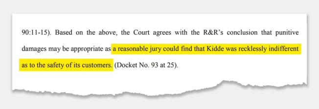portion of lawsuit