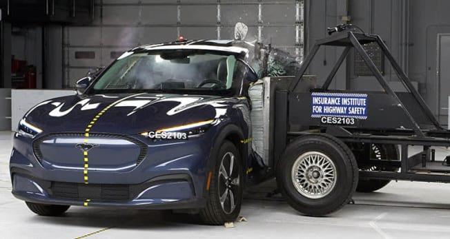 2021 Ford Mustang Mach-E crash test