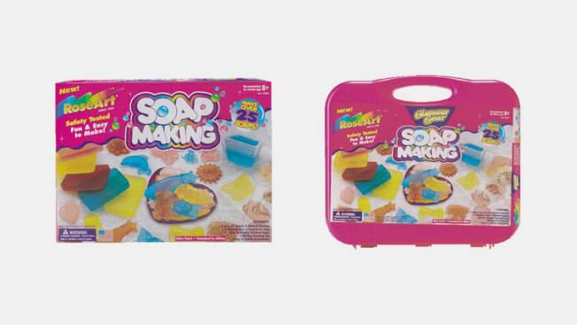 Roseart Soap Making Kit.