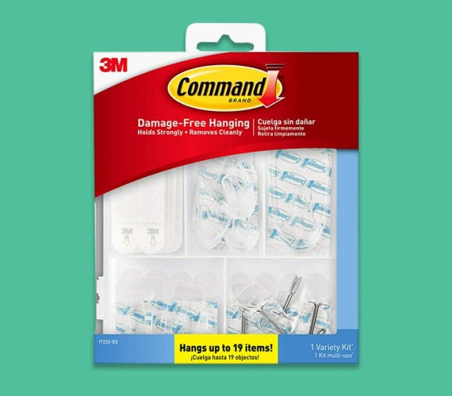 Command hook packaging