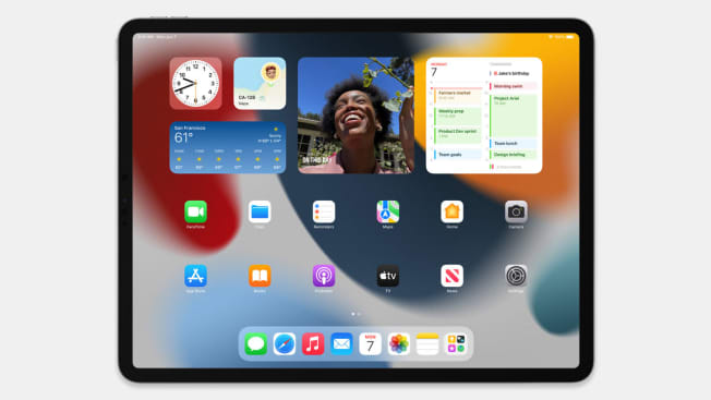 iPad OS15 introduces a more intuitive multitasking experience