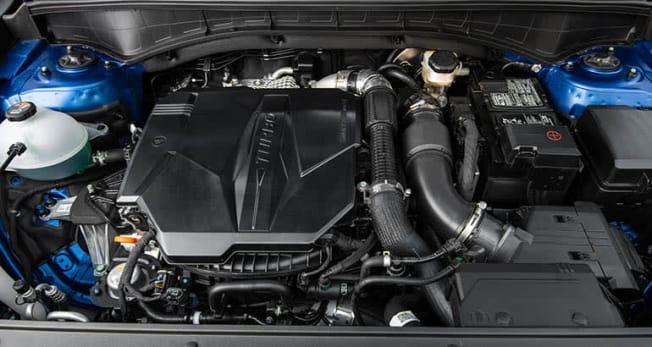 2021 Kia Sorento SX turbo engine