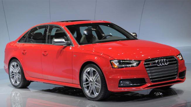 2012 Audi S4 Car Show