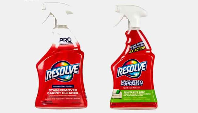 2 upholstery cleaner spray bottles