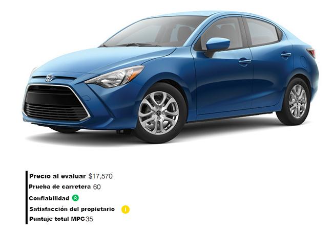 Yaris iA de Toyota