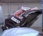 rear facing