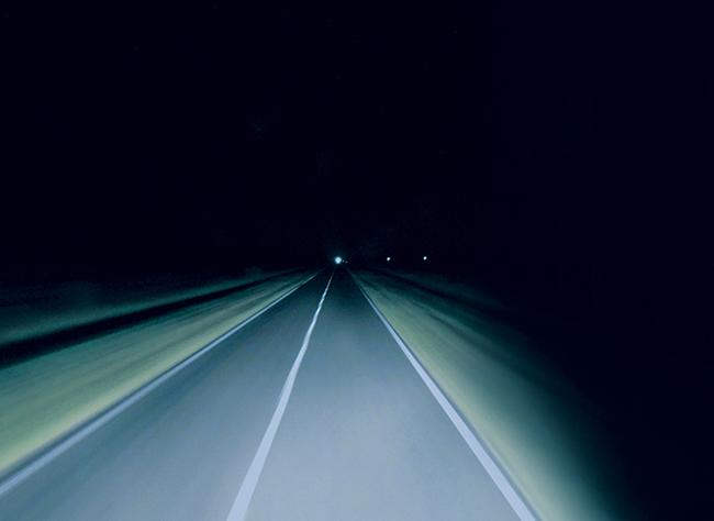 sleep on the road