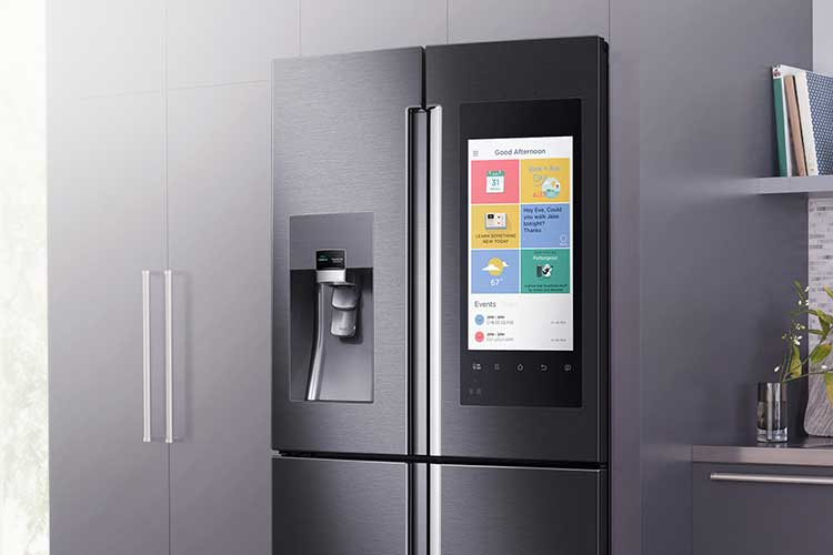 Samsung is part of the cool refrigerator trends