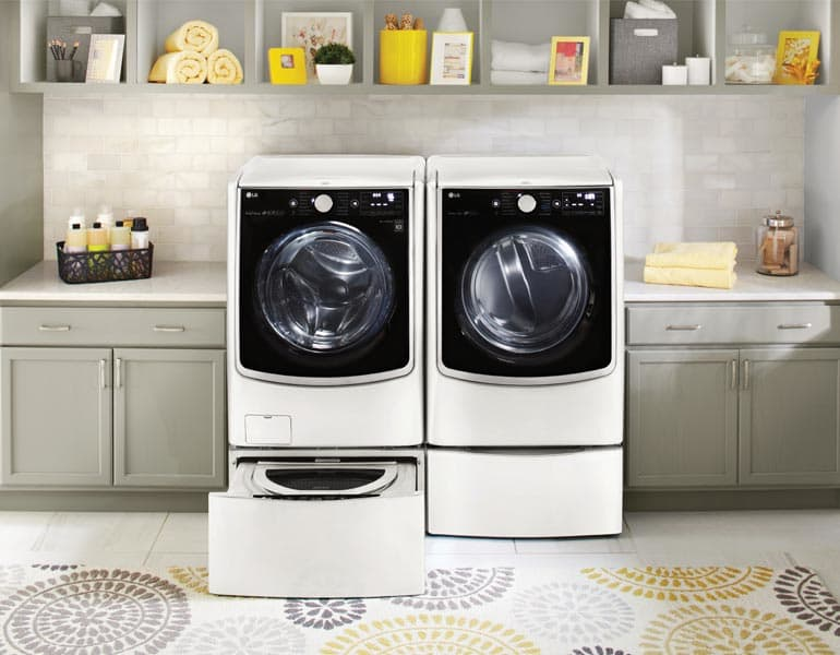 LG washer and dryer pair