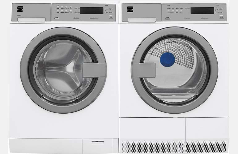 Kenmore compact washer and dryer set.