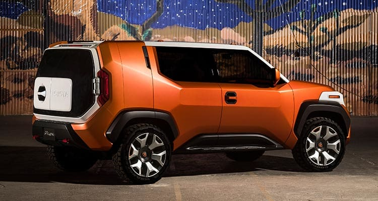 Toyota FT-4X SUV concept