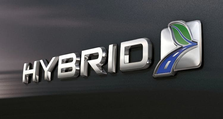 2017 Ford Fusion Hybrid badge