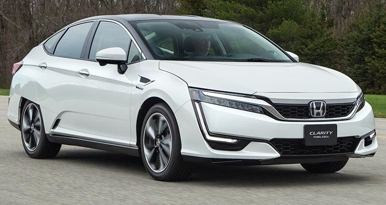 2017 Honda Clarity Fuel Cell Car Preview Consumer Reports