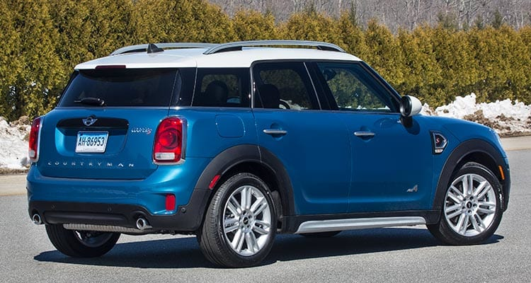 2017 Mini Cooper Countryman Rear