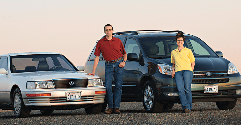 1990 Lexus Ls And 2004 Toyota Sienna