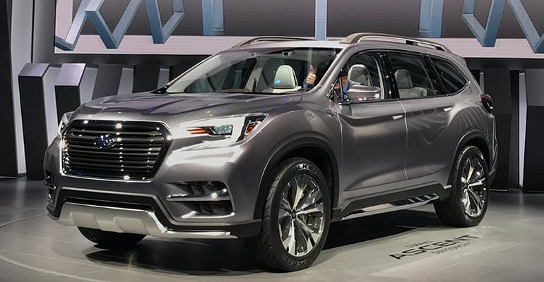 Subaru Ascent Suv Concept Preview Consumer Reports