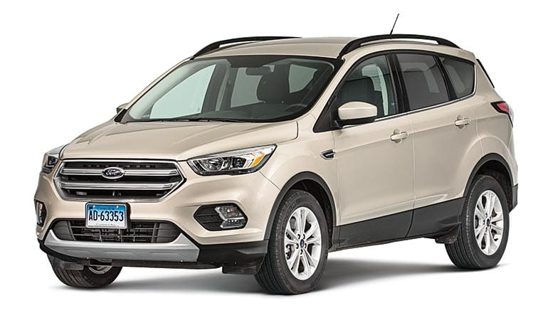 2017 Ford Escape Review Front Shot Of The