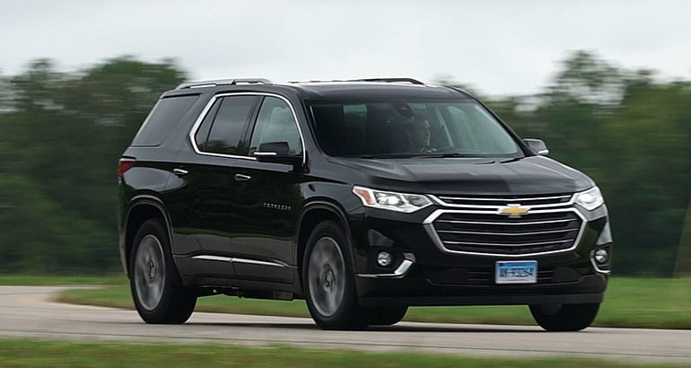 all new 2018 chevrolet traverse review consumer reports. Black Bedroom Furniture Sets. Home Design Ideas