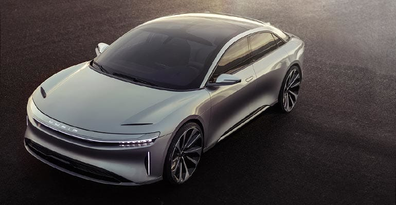 Lucid Motors Air Electric Car