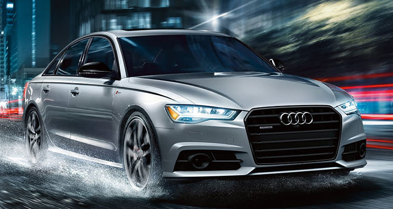 Best-riding car Audi A6.