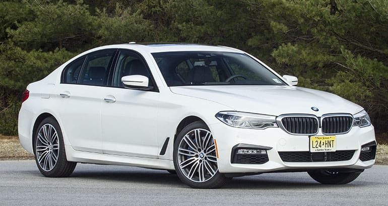 Best-riding car BMW 5 Series.