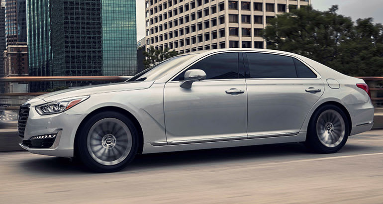 Best-riding car Genesis G90.
