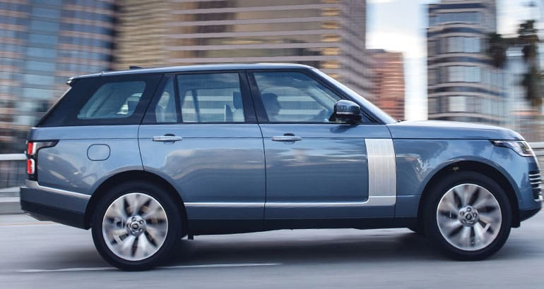 The Land Rover Range Rover is one of the best-riding SUVs.