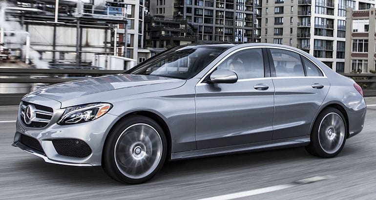 Best-riding car Mercedes-Benz C-Class.