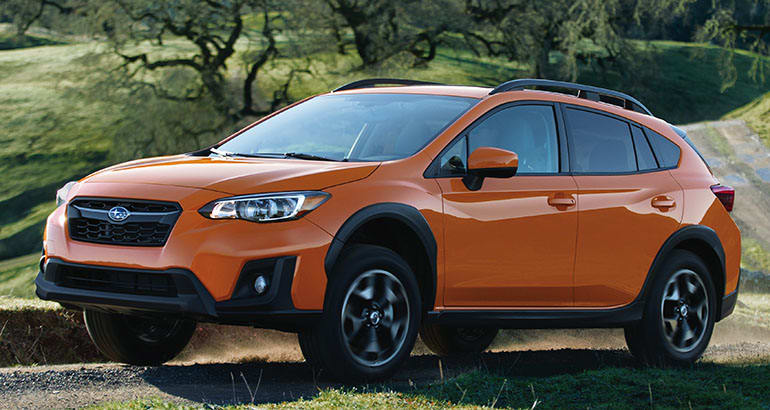 The Subaru Crosstrek is one of the best-riding SUVs.