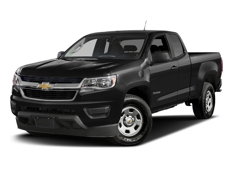 2017 Chevrolet Colorado Toyota Tacoma