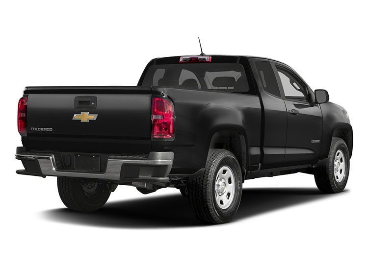 2017 Chevrolet Colorado rear angle