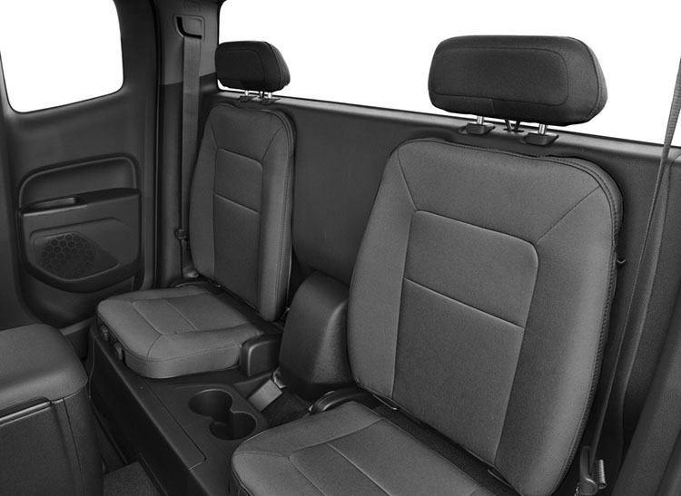 2017 Chevrolet Colorado Rear Seat