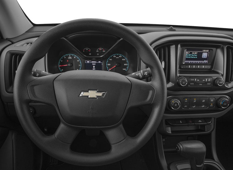 2017 Chevrolet Colorado steering wheel