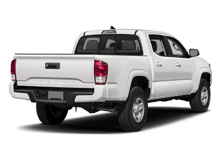 2017 Toyota Tacoma rear angle