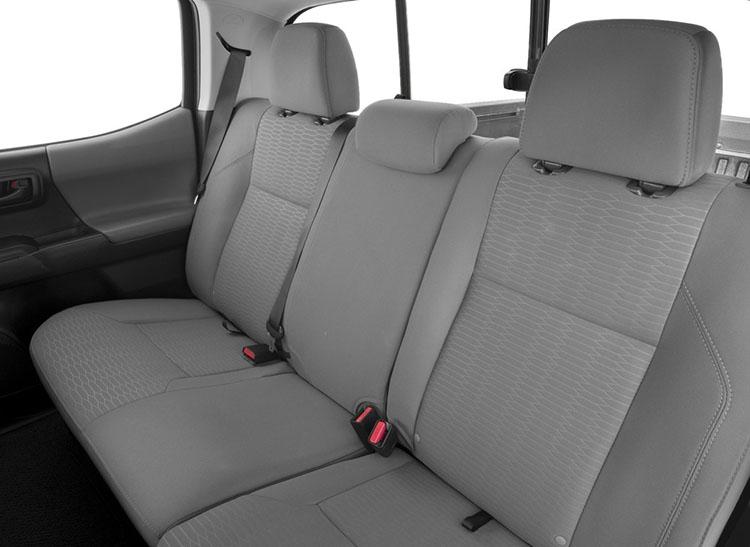 2017 Toyota Tacoma rear seat