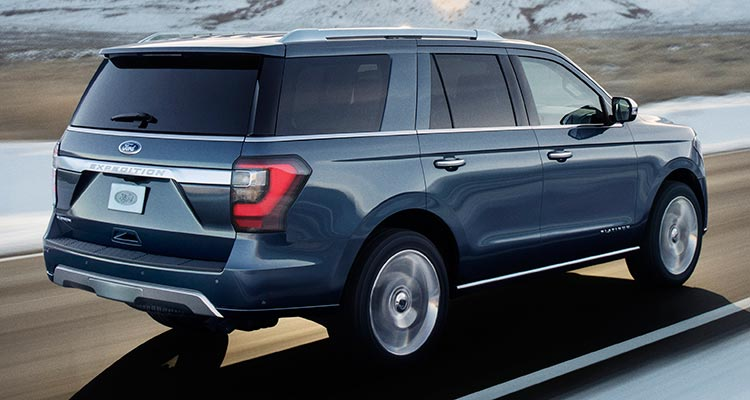 2018 Ford Expedition rear driving